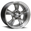 LTR16 Booster 6 Hyper Shot Paint Center / Machined Outer 5 lug