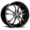 LSS-55 Machined Black 5 lug