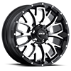 M95 Satin Black Machined Face 5 lug