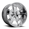 Malibu - U457 Polished 5 lug
