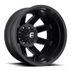 Maverick Dually Rear - D436 Matte Black 8 lug