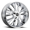M122 Chrome 5 lug