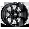 MO970 Gloss Black 6 lug