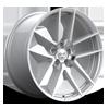 Monaco Gloss Silver Machined 5 lug