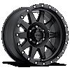 MR301 The Standard Matte Black 6 lug