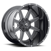 Maverick - D262 Black & Milled 6 lug