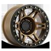 6 LUG MR106 BRONZE W/ BLACK RING