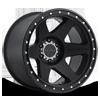 MR310 - Con6 Matte Black 6 lug