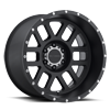MR606 Matte Black 6 lug