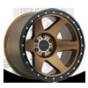 MR610 Bronze w/ Black Ring 6 lug