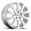 Win 2 Gloss Silver 5 lug
