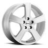 Win Pro Gloss Silver 5 lug