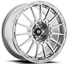 MR119 Rally Cross S Silver 4 lug