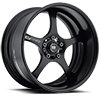 MR221 Traklite 2 Piece Matte Black 5 lug