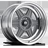 MR224 Mag Gray w/ Polished Barrel 5 lug