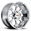 MO955 Chrome 5 lug