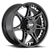 6 LUG MO961 SATIN BLACK