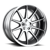 5 LUG NIMITZ CONCAVE - U567 BRUSHED FACE | GLOSS BLACK WINDOWS | POLISHED LIP