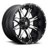 Nutz - D541 Black w/ Machined Face 5 lug