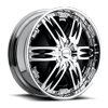 Nasty - S772 Chrome 5 lug