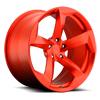 DTM hi polish transparent matte candy red 5 lug
