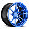 5 LUG GRAND PRIX PEEK A BLUE OVER POLISH