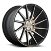 Surge - M114 Black & Machined w/ Dark Tint (R) 5 lug