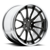 Agile Gloss Candy Black | Brushed Gloss Clear 5 lug
