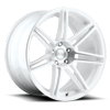 Lucerne Gloss White, Machined 5 lug