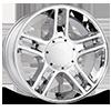 108 Chrome Plated 5 lug