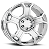 127 Chrome 6 lug