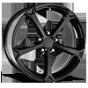 130 Gloss Black 5 lug
