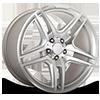 136 Hyper Silver 5 lug