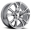 137 Chrome Plated 5 lug