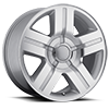 147 Silver Machined 6 lug