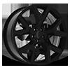 159 Gloss Black 5 lug
