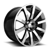 146 Black Chrome PVD 5 lug