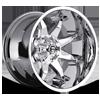 Octane - D508 Chrome Plated 5 lug