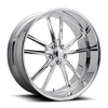 PT.11 - U387 24x10 | Polished 5 lug