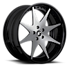 5 LUG PIASTRA SATIN/BLACK CENTER, BLACK LIP
