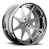 5 LUG PIASTRA SATIN CENTER, CHROME LIP