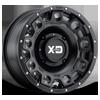 XS129 Holeshot Satin Black 4 lug