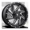 Renegade - D594 Black & Milled 8 lug