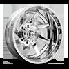Renegade Dually Rear - D263 Chrome 8 lug