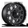 Revolver - D525 20x9 +20 | Matte Black & Milled 6 lug