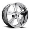 Ridgeline - U630 Polished 5 lug