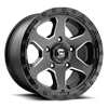 Ripper - D590 Gloss Black & Milled 5 lug