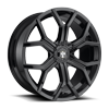 Royalty - S208 Gloss Black 6 lug