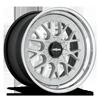 RSE-M Matte Silver w/ Chrome Lip 5 lug