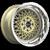 R362 Gold w/ Machined Lip 4 lug